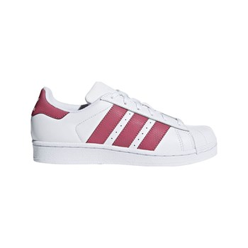 Adidas Originals - Superstar J - Ledersneakers - weiß