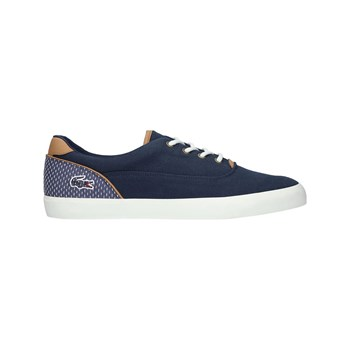 Lacoste - Jouer Lace - Sneakers in pelle - blu scuro