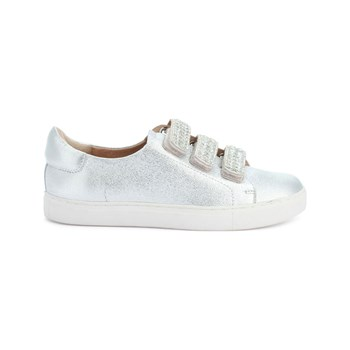 COSMOPARIS - Ejali - Sneakers in pelle - argento