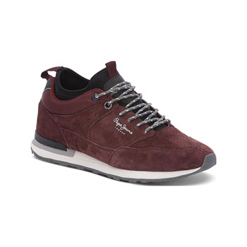 Pepe Jeans Footwear - Boston Treck - Sneakers - bordeaux