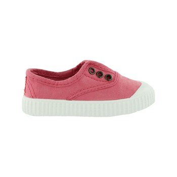 Victoria - Lona - Low Sneakers - rosa