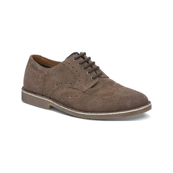Pepe Jeans Footwear - Fenix - Derbies en cuir - marron