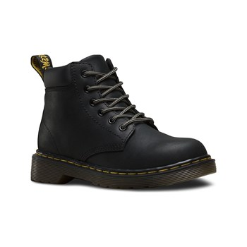 Dr Martens - Bottines en cuir - denim noir