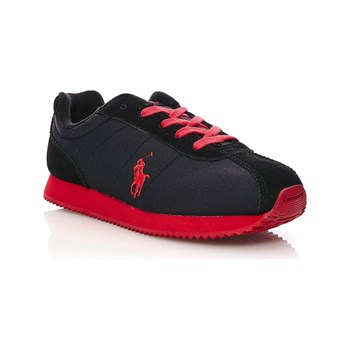 Ralph Lauren Kids - RUNNER LACE - Zapatillas - negro
