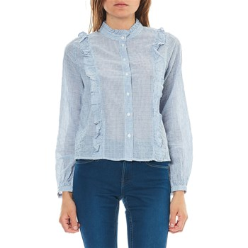 Only - Chemise manches longues - bleu clair