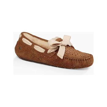 Ugg - Dakota - Slippers en cuir - camel