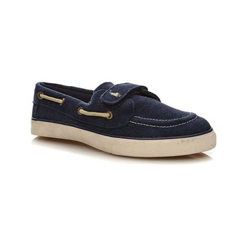 Ralph Lauren Kids - Mocassini in pelle - blu marine