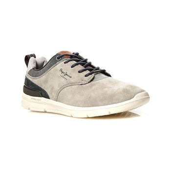 Pepe Jeans Footwear - Jayden 2.1 Essentials - Baskets en cuir - gris