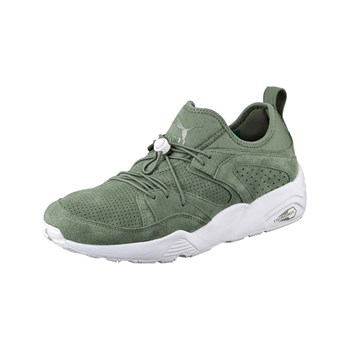 Puma - BLAZE OF GLORY SOFT - Sneakers en cuir - kaki