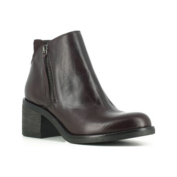 Jonak - Milena - Bottines en cuir - bordeaux