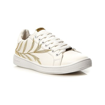 Pepe Jeans Footwear - Brompton Embroidery - Baskets basses - blanc