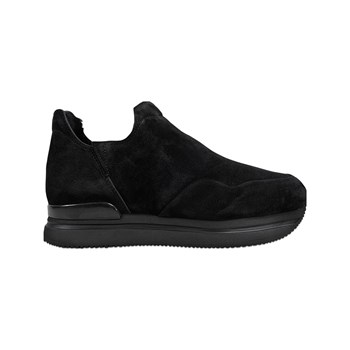 Hogan - H222 - Slip-on en cuir - noir