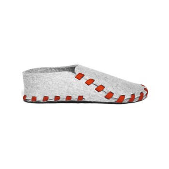 lasso shoes - Chaussons en laine - rouge