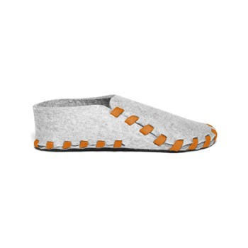 lasso shoes - Chaussons en laine - orange