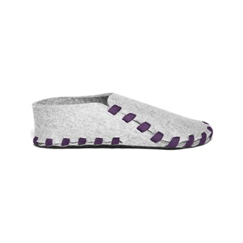 lasso shoes - Chaussons en laine - violet