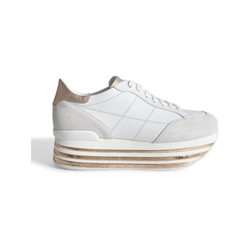 Hogan - Baskets en cuir - blanc
