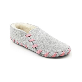 lasso shoes - Chaussons lainé adulte - rose