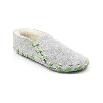 lasso shoes - Chaussons lainé adulte - vert