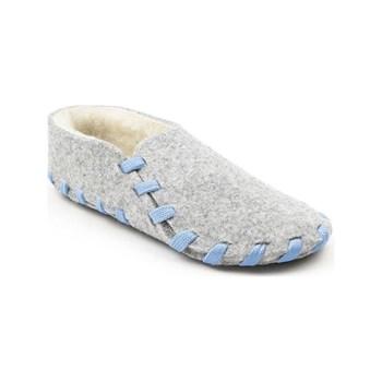lasso shoes - Chaussons  lainé adulte - bleu ciel