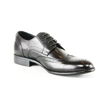 Uomo - Derbies en cuir - noir