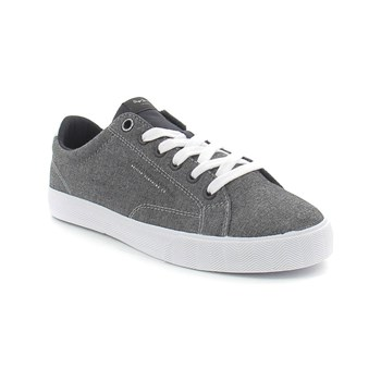 Pepe Jeans Footwear - New north fabric - Tennis 30% lin - gris