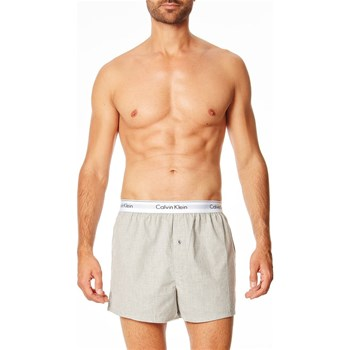 Calvin Klein Underwear Men - Lot de 2 boxers - gris