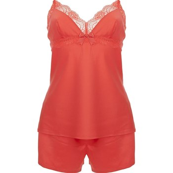 Orcanta Collection Privée - Rosita - Ensemble caraco et short - corail