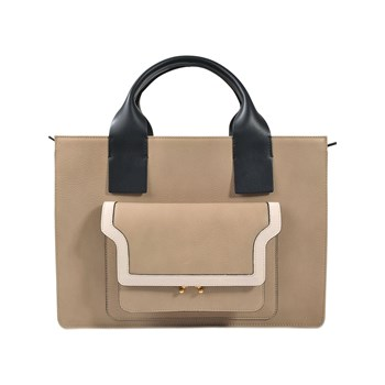 Marni - Shopping Bag - beige