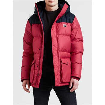 Levi's - Down - Parka - rouge