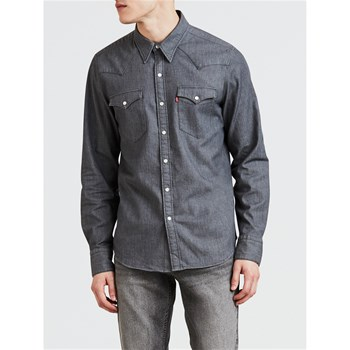 Levi's - Barstow - Chemise manches longues - gris