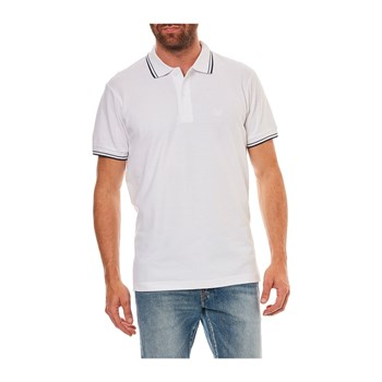 Best Mountain - Kurzärmeliges Poloshirt - weiß