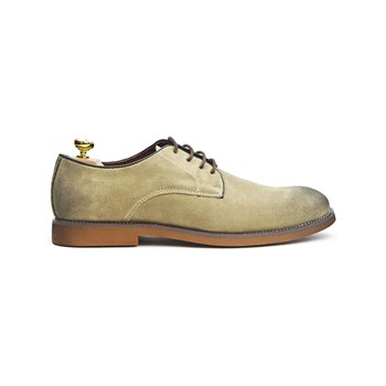 Riveleft - Derbies en cuir - beige