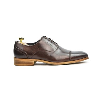 Riveleft - Scarpe Richelieu in pelle - marrone