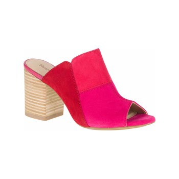 Hush Puppies - Sayer - Mules en cuir - fuchsia