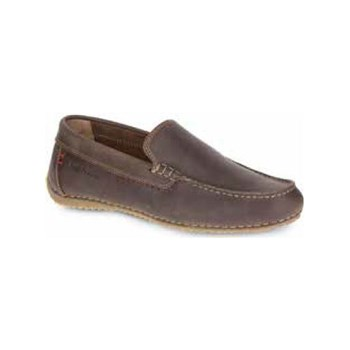 Hush Puppies - Riban - Mocassins en cuir - marron