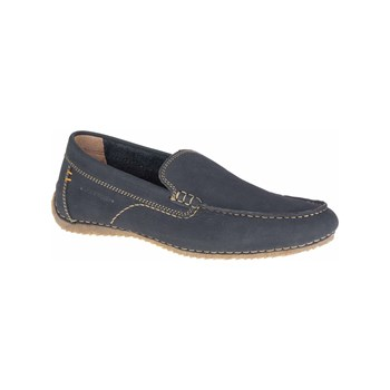 Hush Puppies - Riban - Mocasines de cuero - azul marino