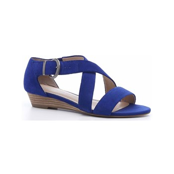 Hush Puppies - Kaly - Sandali in pelle - blu