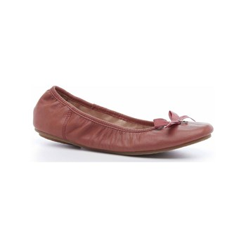 Hush Puppies - Lilas - Ballerines en cuir - rose