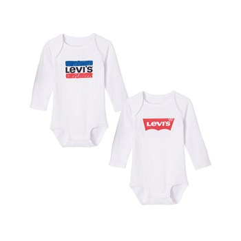 Levi's Kids - Bod - Lot de 2 body - blanc