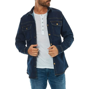 Only & sons - Chemise manches longues - bleu jean