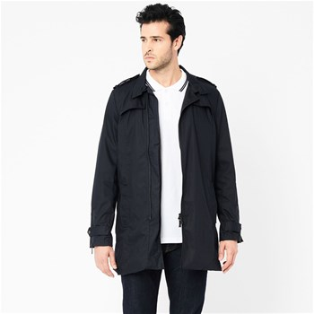Harrington - Trench - bleu marine