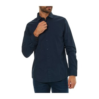 Best Mountain - Camisa de manga larga - azul marino