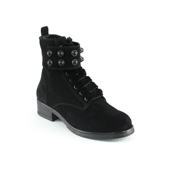 Manoukian - Bottines en cuir - noir