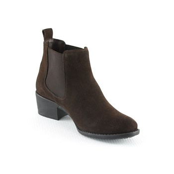 Manoukian - Bottines en cuir - brun