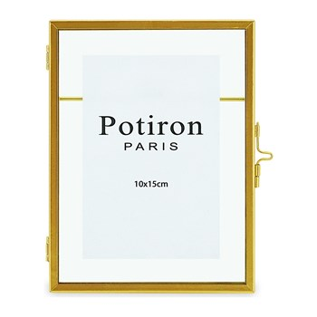 Potiron - New Art - Cadre photo 10x15 cm - or
