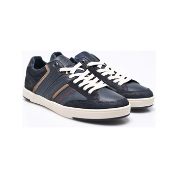 Levi's - Beyers low - Sneakers in pelle - blu