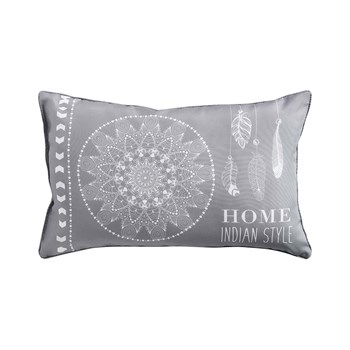 Ifilhome - Reveline - Coussin rectangulaire - gris