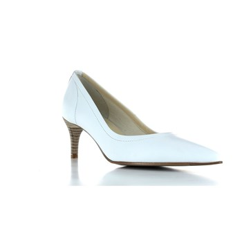Elizabeth Stuart - Rent - Leren pumps - wit