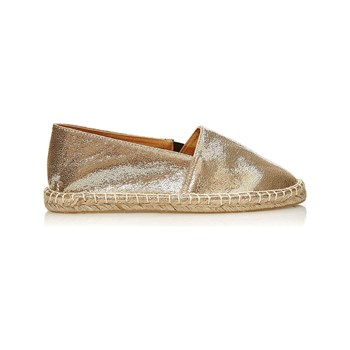 Pieces - Espadrilles - goldfarben