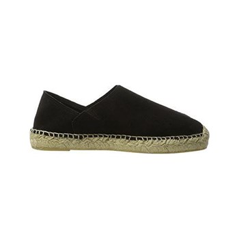 Pieces - Katie - Espadrillas in pelle - nero